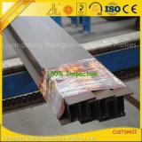 Perfil al aire libre del obturador/de las lumbreras de la protuberancia de aluminio revestida del polvo