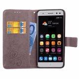 El cuero Flip Phone casos para Zte Blade V7 Lite