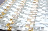 8mmの厚さの波のガラスモザイク・タイルの卸売のモザイク・タイル