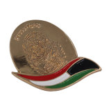 Suministro de China de metal en forma oval el botón Pin insignia la insignia de Star Trek