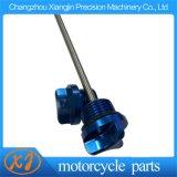 Asta misura-livello di alluminio dell'olio di CNC del motociclo di alta qualità