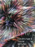 Imitation-Raccoon-fourrure en fausse fourrure/Eszlkf17100-B