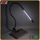 LED, die beweglichen flexiblen Stutzen-Schelle-Lampe USB-Augen-Sorgfalt-Klipp auf der Nachttisch-Schreibtisch-Leselampe-LED Tisch-Lampe Buch-der Lampen-LED beleuchtet