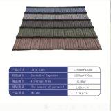 Azulejo de azotea revestido de piedra certificado Ce del metal/azulejo de azotea francesa
