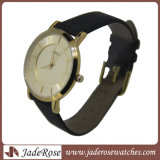 Commerce de gros Fashion Fashion cuir large noire Watch Watch