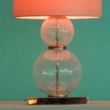 Lámpara de vector de cristal soplada estilo moderno caliente de la burbuja de la venta para el hotel