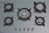 Tipo de vidro de 4 queimadores construído no fogão de gás/Hob do gás/fogão de gás
