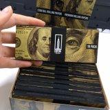 Personalizar su propia marca Namecard usar el hábito de fumar papel de rodadura