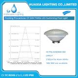 12V luz subacuática multi impermeable de la piscina del color PAR56 LED