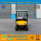Carrello di golf elettrico di mini 2 Seater colore giallo approvato del Ce con l'alta qualità
