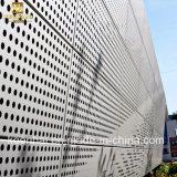 アルミニウム穴があいた壁のクラッディングパネルの装飾材料