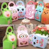Chuveiro de bebé Favor caixas e sacos animais caixa de doces de Design para Girl Boy Festa de Aniversário de Crianças Dom Candy Box caixa de Tratamento de Papel