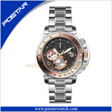 Carbon Fiber Dial Promotional Watch를 가진 전통적인 Sport Watch