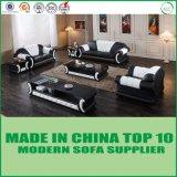 Sofa sectionnel de Chesterfield du plus défunt de modèle cuir bon marché faisant le coin des prix