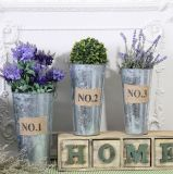 Galvanizado mayorista Metel nave sembradora Pot Home jardín de flores