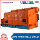 O carvão despediu a caldeira de vapor automática da grelha Chain