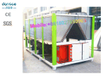 Kühler des Wasser-100HP mit Hanbell Schrauben-Kompressor