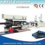 Regenwasser-Entwässerung-Rohr-Extruder, doppel-wandige gewölbte Rohr-Produktions-Maschine