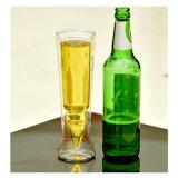 大きいホウケイ酸塩の倍の壁の弾丸の小グラスのホウケイ酸塩ビールコップ