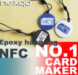 Etiqueta etiquetas RFID Water-Proof Ntag216 NFC de Metal Anti