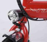 Bici piegante elettrica della montagna adulta pieghevole del Portable 350With500W con i pedali (Bosch)