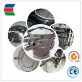 2018Venda quente circule rotativa peneira vibratória de aço inoxidável utilizados em pó