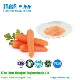 La ISO aprobó el polvo orgánico natural puro de la zanahoria del 100%, polvo de la zanahoria de la alta calidad