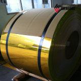 Revestimiento de PVDF bobina de aluminio con recubrimiento de color para la pared de cortina