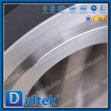 Prueba de 100% Didtek Disco de acero inoxidable puerta doble válvula de retención de la oblea