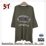 T-shirt impresso alta qualidade das mulheres das vendas por atacado