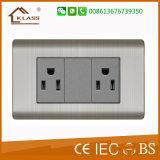 Серый цвет тройной 3pin socket лучшие продажи на рынке в Африке