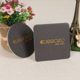 Round Bebida de papel impresso o papelão Coasters (YH-DC003)
