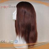 가득 차있는 레이스 인간적인 빨간 Virgin 머리 가발 (PPG-l-01674)