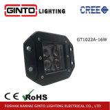 свет работы 4D квадратный СИД для полностью света автомобиля управляя (GT1022-16W)