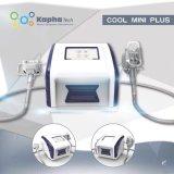 Portable avec double menton pour utilisation à domicile Fat Gel Minceur Cryolipolysis Machine.