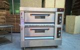 販売のためのHonglingの台所装置の2デッキの4皿のガスオーブン
