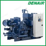 Oil-Free多段式高速駆動機構水冷却されるか、または冷却の遠心空気ブロア