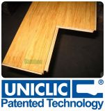 Uniclic Strang gesponnener Bambusbodenbelag