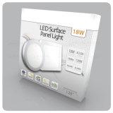 La luz de techo LED 6W 12W 18W 24W panel LED panel LED redonda de la luz