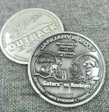 Lo zinco su ordinazione la moneta smaltata del metallo della pressofusione