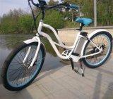 숙녀를 위한 36V 바닷가 전기 자전거 250W