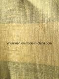 Tela de lino pura, tela de la alineada de las mujeres, ropa del paño de la camisa, materia textil casera, tela del vector