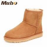 Ботинки людей и женщин овчины Mubo миниые короткие