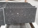 Meteor flameado mosaicos de granito negro&bandas