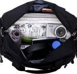 Schwarze Handtasche getragener Gepäck Trave Beutel für Geschäftsreise
