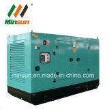 Diesel van Lovol het Stille Open Type van Generator 100kVA met ATS