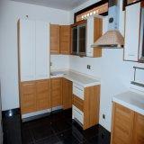 Heißer Verkaufs-moderner hoher glatter Küche-Schrank