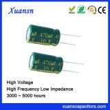 De hete Radiale Condensator van de Hoge Frequentie van het Lage Voltage van de Verkoop 16V 470UF