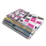 Spirale de l'école à couverture rigide de couleur personnalisés imprimés Planner ordinateur portable
