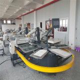10 kleur 44 Post Automatische Oval De Machine van de Druk van de serigrafie voor Kleding